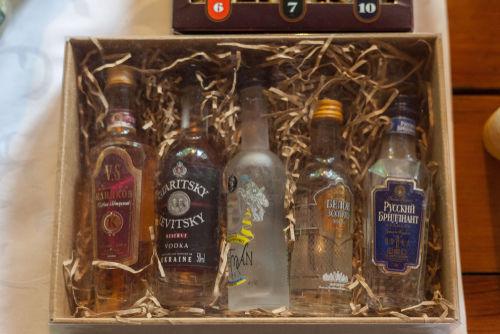 ウイスキーミニボトル、贈って喜ばれる!