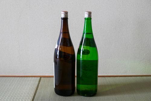 日本酒セラーは一升瓶を丸ごと収納