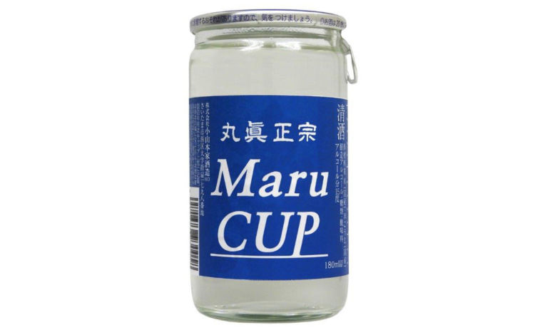 【丸眞正宗 Maru Cup 180ml/小山本家酒造】