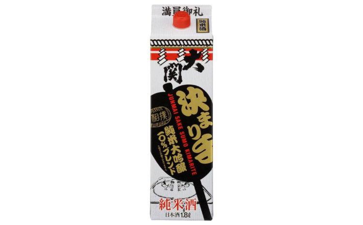 【純米酒 決まり手1800ml/大関】