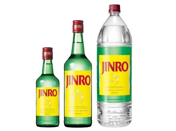 甲類焼酎の代表銘柄(3)韓国生まれの甲類焼酎「JINRO」