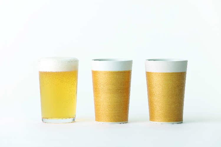 いつまでもビールが減らない!? 不思議なビアカップ