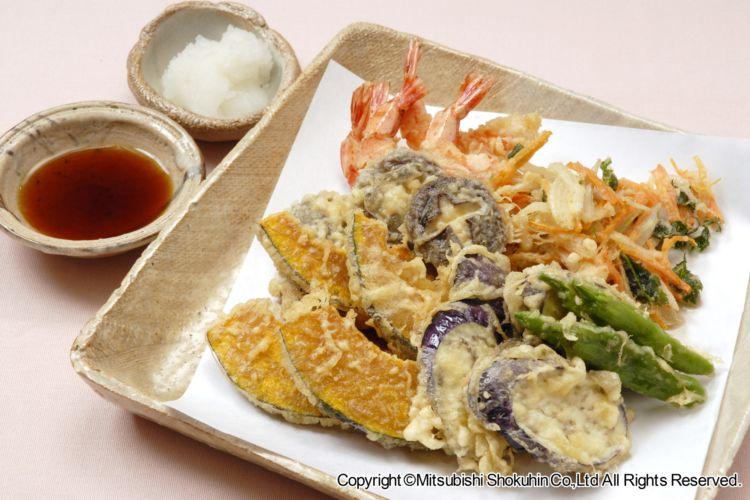 「出羽鶴 awa sake 明日へ 」に合う料理:天ぷら
