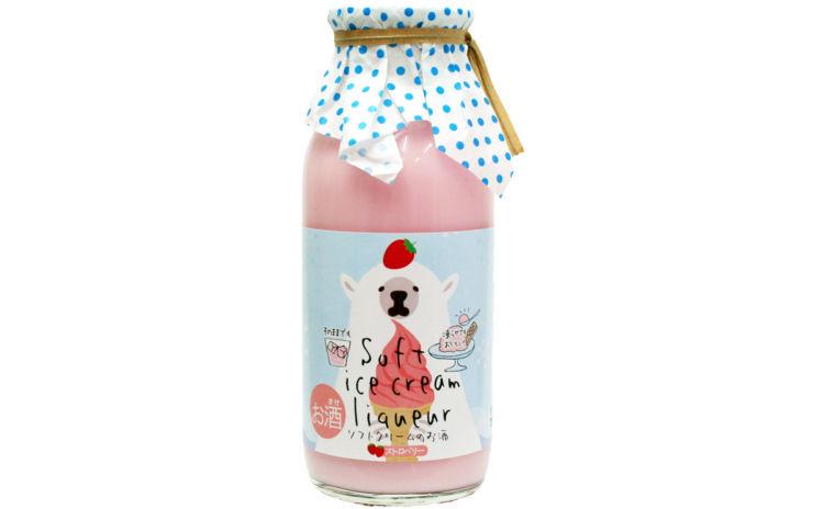 ソフトクリームのお酒 いちご 170ml