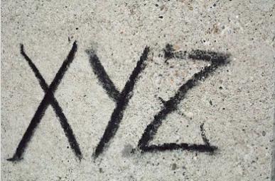 「XYZ」の由来にはもうひとつの説が