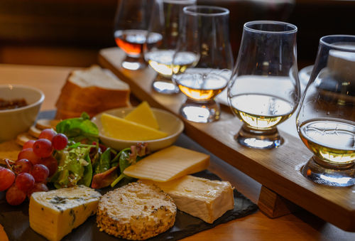 ウイスキーとチーズ、オススメの組み合わせ
