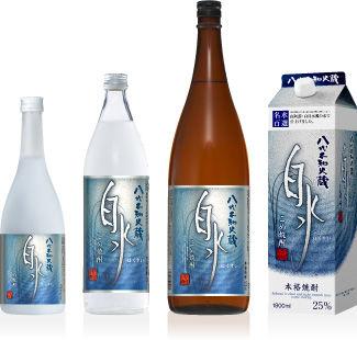 「白水」むぎ・米の飲みくらべで旨さを実感