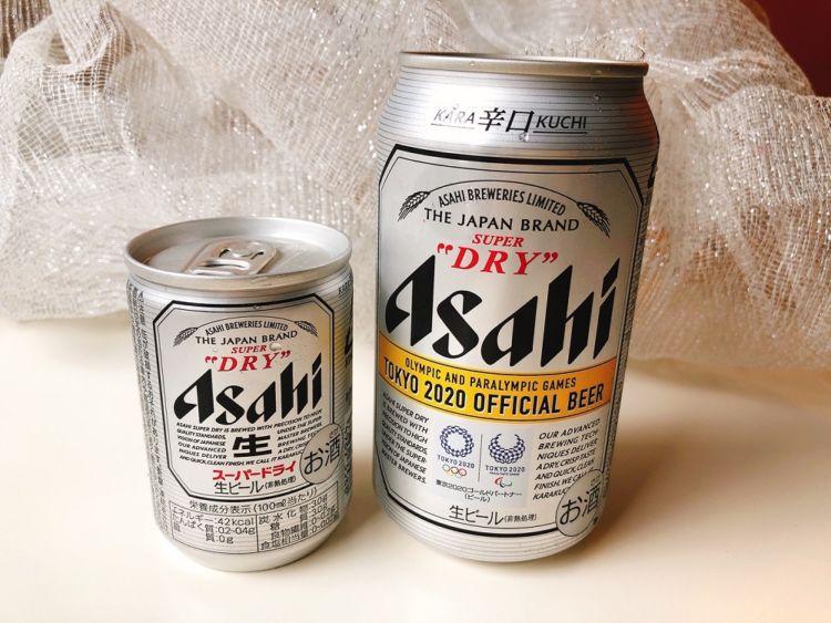 アサヒスーパードライは超ミニ缶も便利!