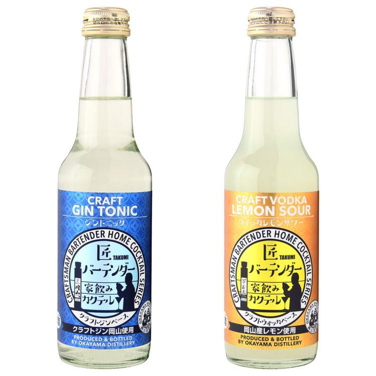 岡山・宮下酒造から、バー気分を気軽に味わえるクラフトカクテル2種が新発売!