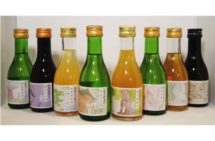 佐世保と渋谷がつながるお土産プロジェクトより、新たに「渋谷酒」全8種類が発表!
