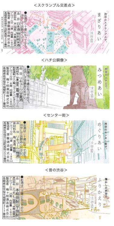 <渋谷区>渋谷センター街、スクランブル交差点、ハチ公銅像、昔の渋谷駅前風景