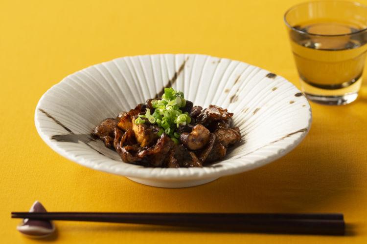 【動画レシピ】豚ときのこのコク旨炒め×純米酒