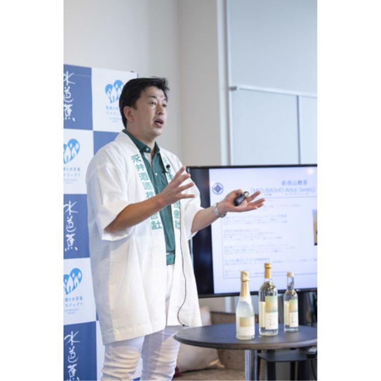 商品開発への想い【永井酒造株式会社 代表取締役社長 永井則吉氏】