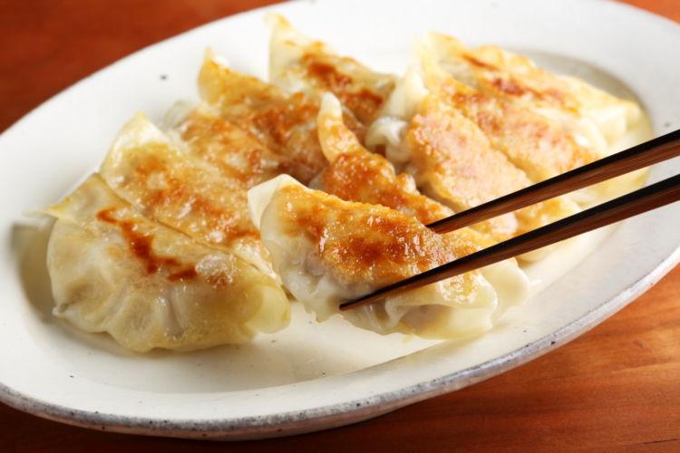 白菜漬けを使った、ラクラクおうち餃子 「白菜漬け餃子」