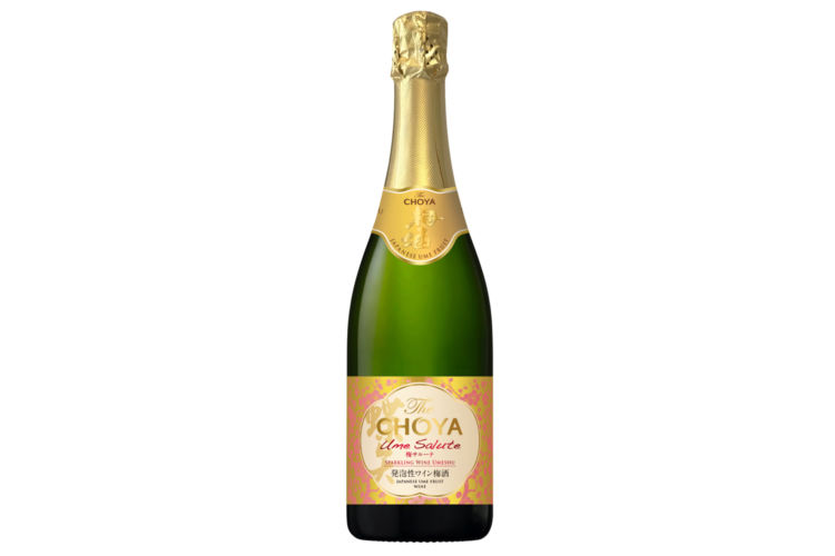 チョーヤから新発想の発泡性ワイン梅酒「The CHOYA Ume Salute」が登場