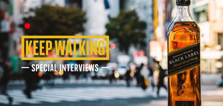 """KEEP WALKING""な人々にスポットライトを当てたスペシャルインタビューを公開中!"