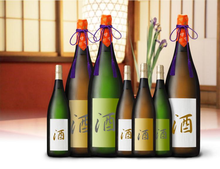 日本酒の四合瓶(4合瓶)に見る日本の酒文化