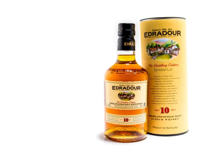「エドラダワー」は、スコットランド産のリッチでクリーミーなハイランドモルト