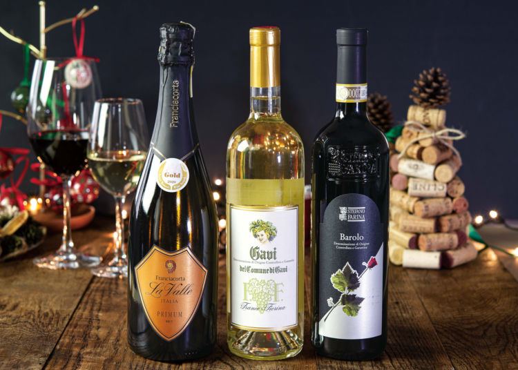 【THE BEST...】有名高級ワインが揃った泡白赤3本セット