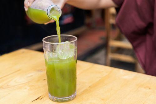 おいしい緑茶ハイの作り方