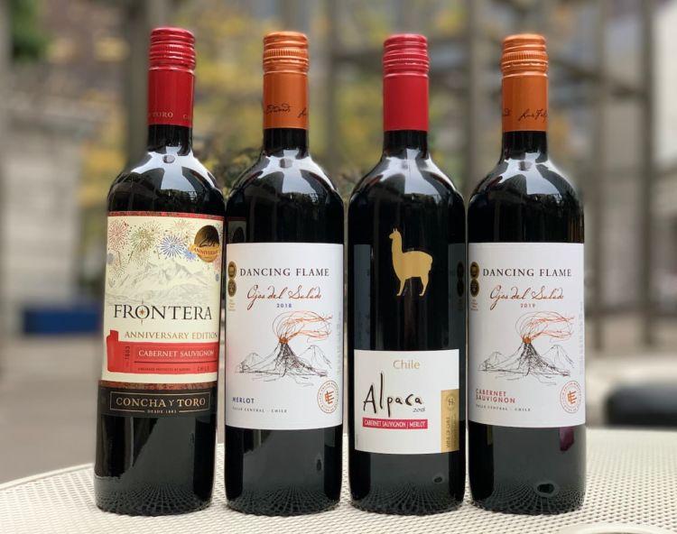 コスパの高いチリワイン、ダンシングフレイムがおすすめ!ソーヴィニヨンブラン(白ワイン)にも注目です