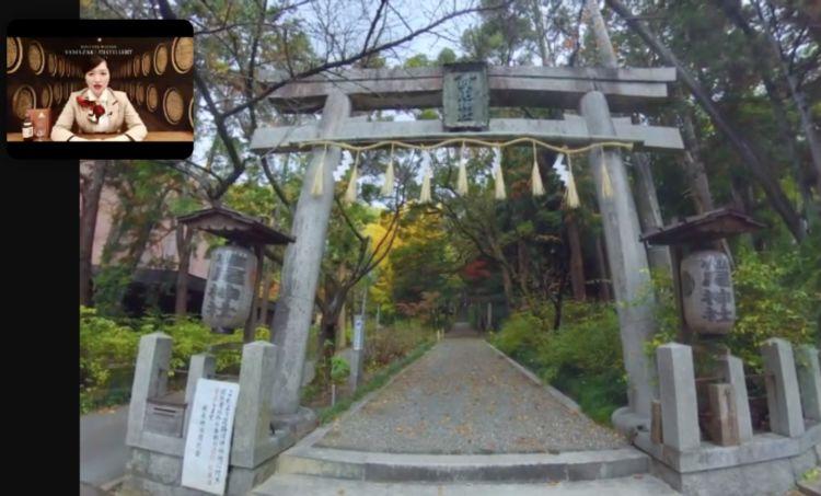 椎尾神社にある鳥居