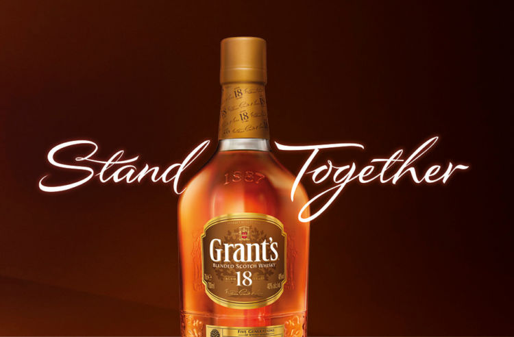 「グランツ」は世界中で親しまれているブレンデッドウイスキー