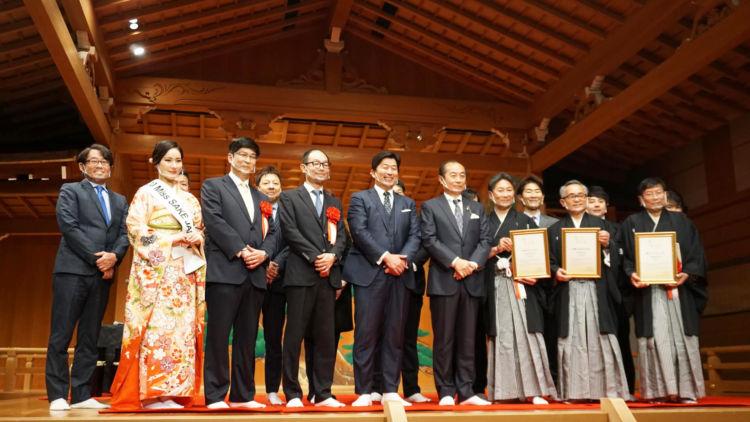 「Garyubai Sparkling Sake」が静岡県初の新規認定酒に