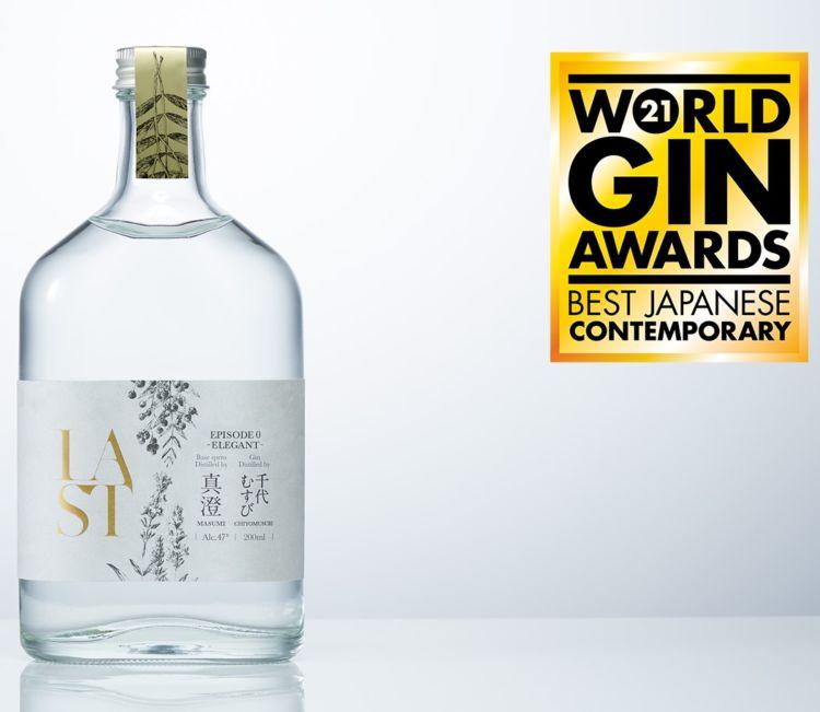 WWAのジン部門(WGA)で、国別の最高賞「Country Winner」受賞