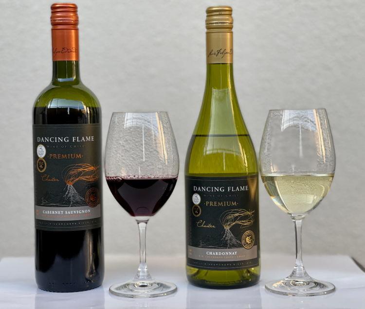 旨安ワインにワンランク上級品が登場!チリワイン「LFE ダンシングフレイム・プレミアム」が新発売