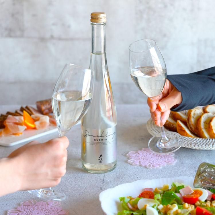 「久保田」ブランドとしては初!本格的な味わいのスパークリング清酒を手頃な価格で