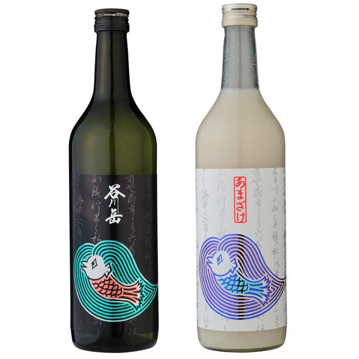 アマビエをラベルにあしらった日本酒と甘酒が新発売!新型コロナウイルス感染症終息と健康を祈願