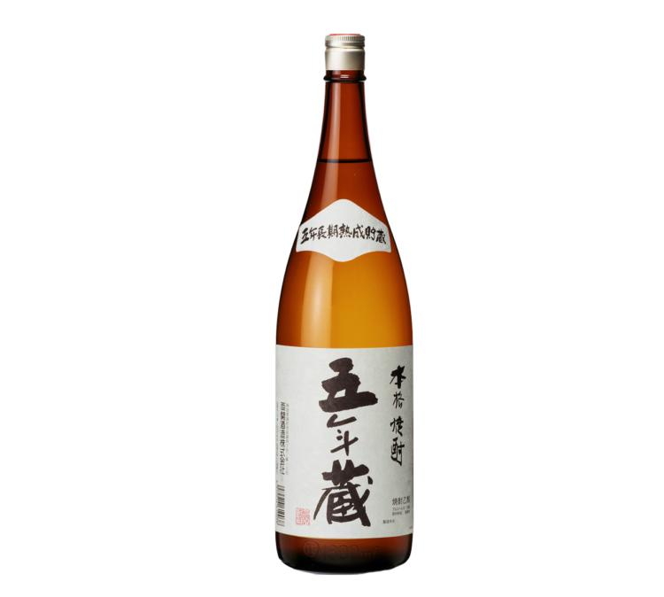 「五年蔵」は、清酒粕から造られる粕取り焼酎(酒粕焼酎)
