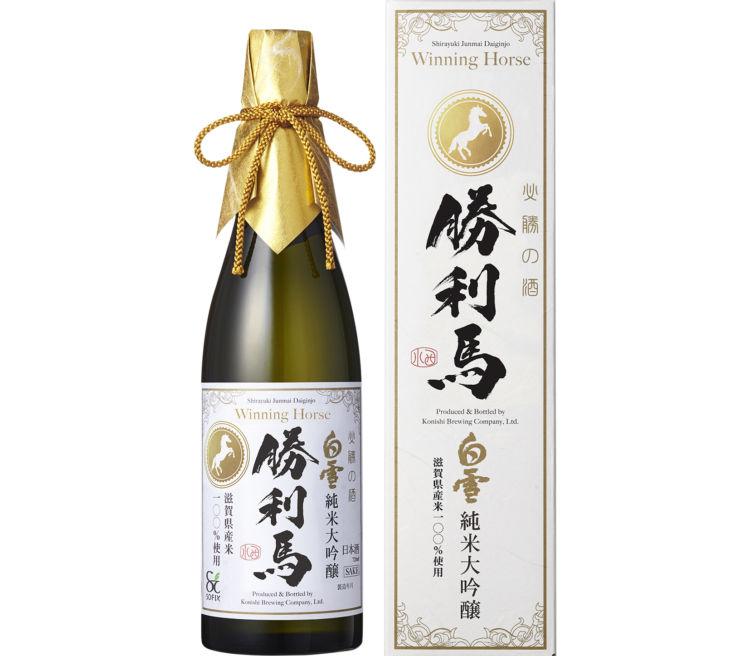 持続可能な農業を応援!馬有機堆肥で育てたお米で作った日本酒「清酒・勝利馬(しょうりうま)」新発売