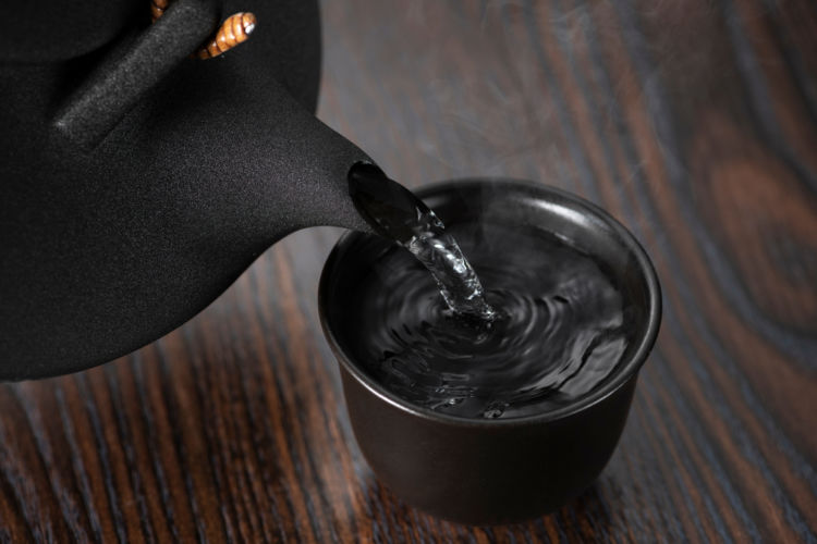 「黒千代香」を使って焼酎の燗酒をたのしもう