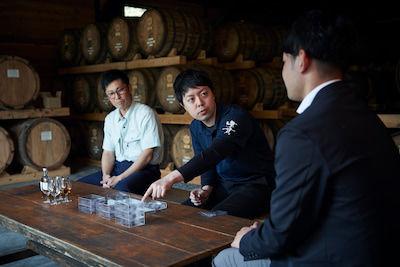 ロッテの技術・情熱とウイスキー職人の感性が共鳴