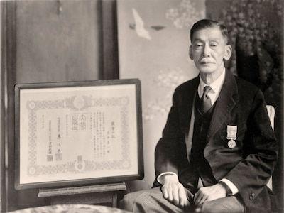 マルスウイスキーの誕生に尽力した岩井喜一郎氏