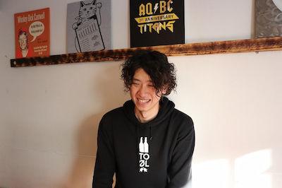 ビールを愛するAQベボリューション 江上さん