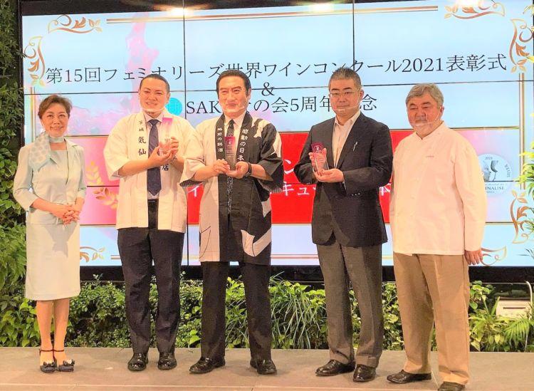 世界の女性ワイン専門家750名に認められた、日本ワイン・日本リキュール・日本酒の注目3銘柄が発表