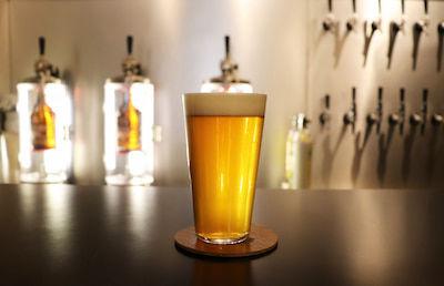 ビールの様子