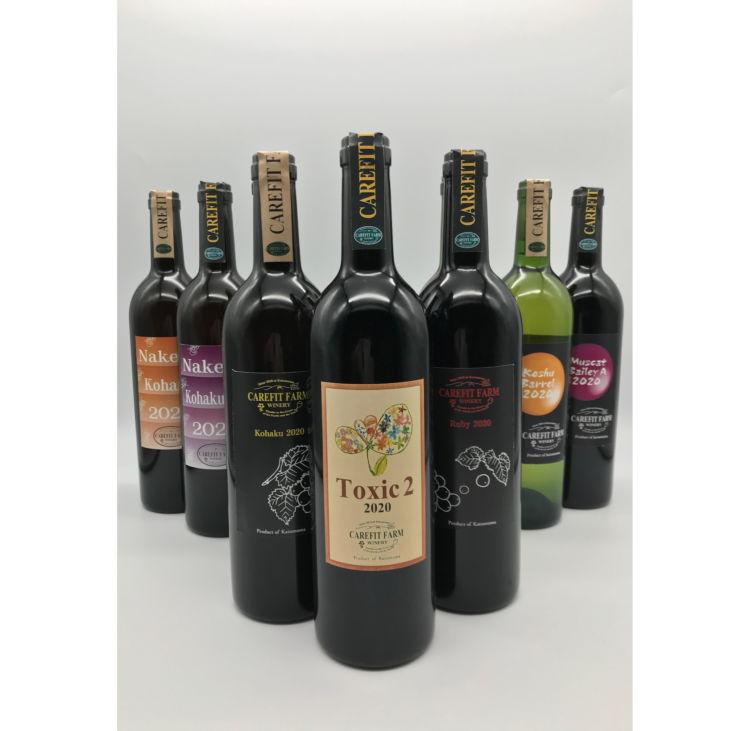 ダイバーシティワイナリー「ケアフィットファーム」が山梨県勝沼産ぶどうのナチュラルワイン10種を新発売