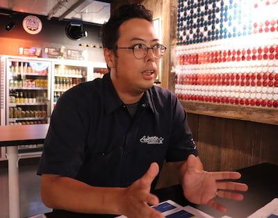 ビールを愛する、ナガノトレーディング 卸売営業部 マネージャー佐藤さん