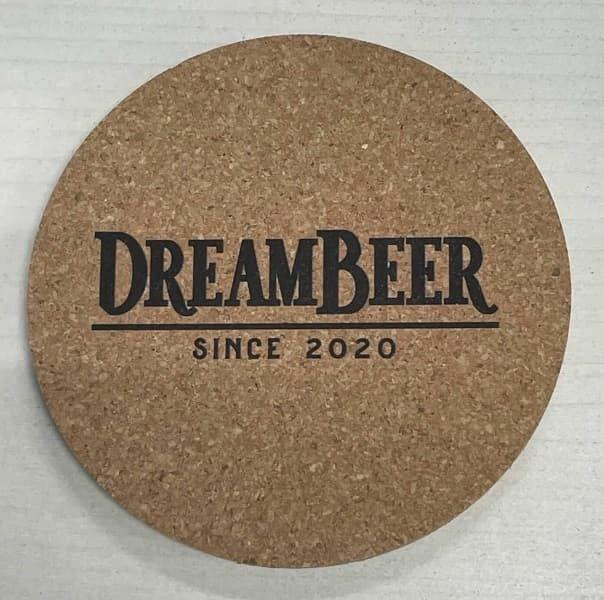 DreamBeerオリジナルコルクコースター