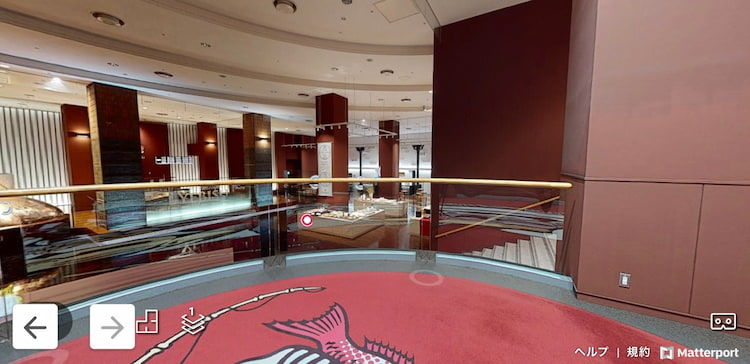 「3Dヱビスビール記念館」中央から右方向を見た館内