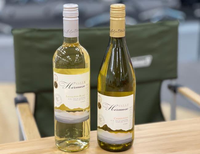 エルモソヴァレーの白ワイン2種類