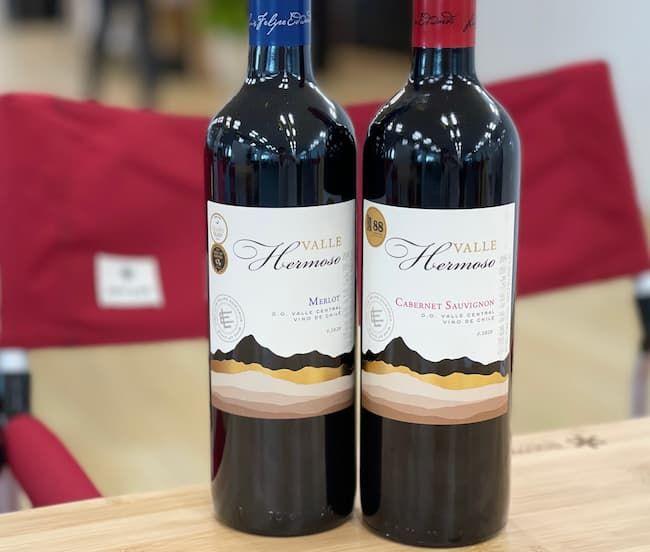 エルモソヴァレーの赤ワイン2種類