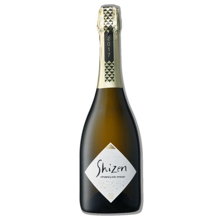 【甲州ぶどう100%使用】の国産ワイン「Shizen Sparkling Koshu2017」登場