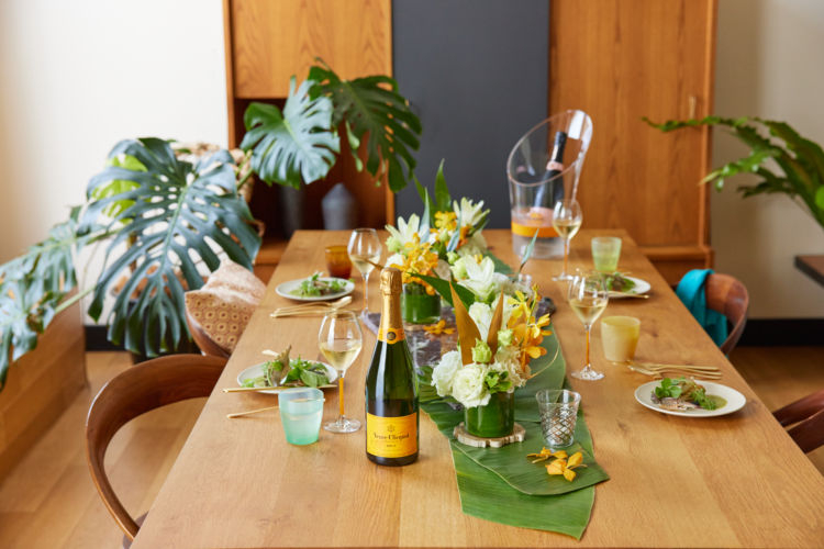レストランさながらのクオリティーを自宅で!「ヴーヴ・クリコおうちでシェフズテーブル」が予約受付を開始