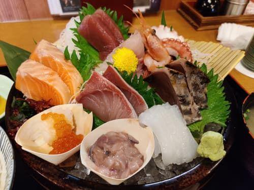 海鮮のお刺身