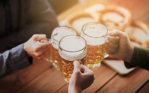 熱処理しているビールとしていないビール